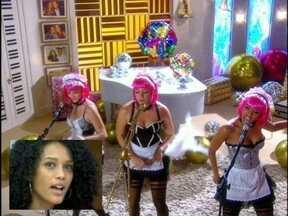 Taís Araújo canta com o clipe ''Vida de Empreguete'' - Atriz mostra que sabe a letra na ponta da língua