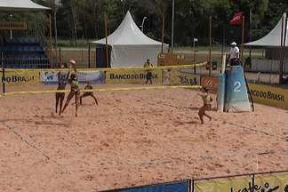 Chega ao fim o Campeonato de Vôlei Sub-23 em São Luís - Carolina Horta e Rebeca foram campeãs no femino e a dupla Marcos e Gustavo faturou o masculino