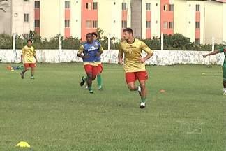 Sampaio faz o último treino antes da estreia na Série D - Tricolor faz o primeiro jogo contra o Mixto, no próximo sábado