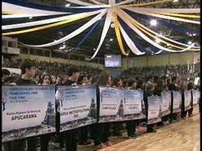 Jovens de todo o Paraná disputam finais dos Jogos Escolares - Fase decisiva da categoria 12 a 14 anos acontecem durante toda a semana, em Francisco Beltrão