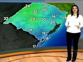 Domingo começa com apenas 10ºC em Porto Alegre - Máxima na capita gaúcha será de 20ºC.