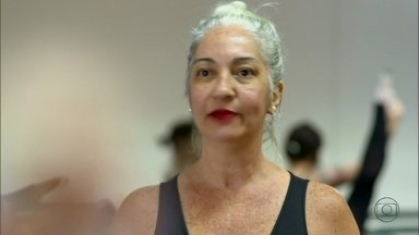 Lilia Teles mostra vida de jornalista que mudou radicalmente - Christine realizou o sonho de retomar a vida de bailarina