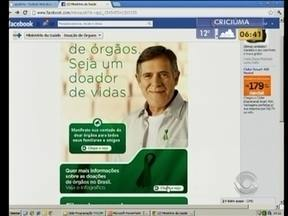 Ações no estado incentivam a doação de órgãos - Santa Catarina tem praticamente o dobro que a média nacional de doadores de órgãos.