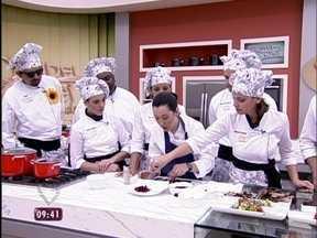 Workshop Vanguarda: aprenda a aproveitar alimentos de modos diferentes - Confira como foi o primeiro treinamento do Super Chef Celebridades