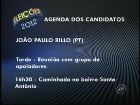 Veja agenda dos candidatos a prefeito de Rio Preto e Araçatuba, SP - A partir desta segunda-feira (6), o Tem Notícias e o G1 Rio Preto divulgam a agenda de compromissos dos candidatos a prefeito das duas maiores cidades da região noroeste paulista: São José do Rio Preto (SP) e Araçatuba (SP).