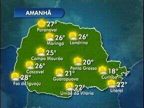Temperaturas caem nesta terça-feira - Máxima na capital chega a 18º.