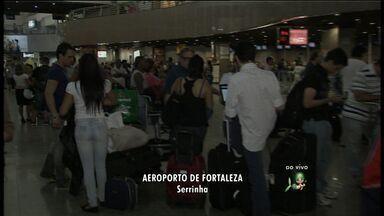 Começou nesta segunda última etapa do reacapeamento da pista do aeroporto de Fortaleza - Com as obras 27 voos vão ser cancelados durante as obras.