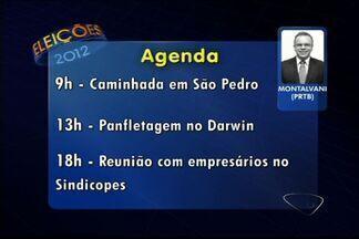 Confira a agenda dos candidatos a prefeito das principais cidades do ES - A partir desta segunda (6), o G1 divulga o dia a dia dos concorrentes.