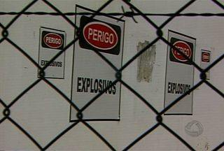 Exército de Corumbá faz operação contra furto de explosivos - Em Corumbá, o Exército fez uma operação para combater furto de explosivos