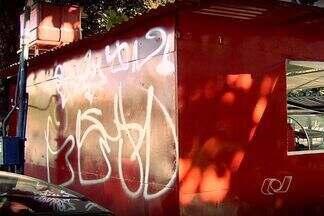 Confira os principais destaques do Jornal Anhanguera 1ª Edição - O JA mostra nesta quarta-feira (8) que imóveis e monumentos públicos estão sendo pichados, em Goiânia.