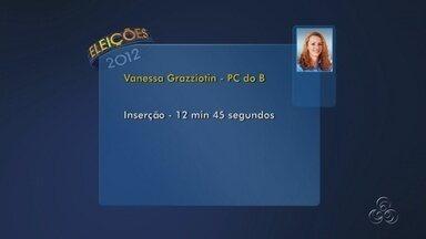 Vanessa Grazziotin terá maior tempo de propaganda eleitoral em Manaus - Candidata lidera exposição no rádio e televisão definido pelo TRE-AM