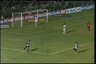 GOOOOL! Itamar abre o placar para o Ceará - Itamar avança pelo meia e chuta na saída do goleiro Fernando Leal.