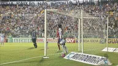 Ceará ganha do Barueri por 2 a 0 e espanta má fase - Mesmo sem apresentar um grande futebol, o time alvinegro venceu por dois gols de diferença.