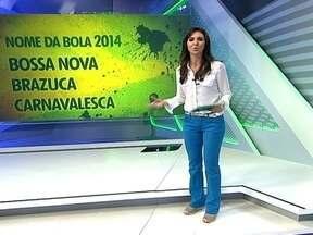 Ajude a escolher o nome da bola da Copa de Mundo de 2014 - A fabricante está lançando a campanha, e os nomes sujeridos são Bossa Nova, Brazuca e Carnavalesca.