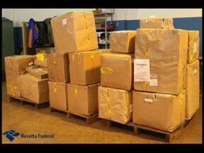 Agências dos Correios estão sendo usadas para despachar produtos contrabandeados - Agências de cidades pequenas são as mais usadas pelos contrabandistas.