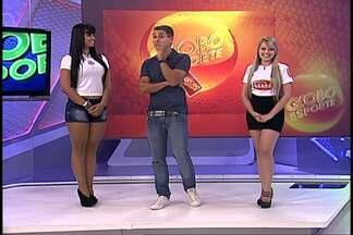Conheça as candidatas a Musa do Santos no Brasileirão 2012 - Janine Machado e Rafaela Miranda são as concorrentes. Vote no globoesporte.com/musas