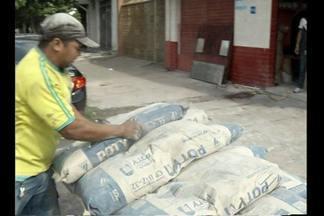 Falta de cimento afeta comerciantes e a construção civil no Pará - Na capital o estoque está em baixa.