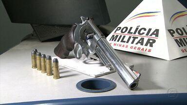 Adolescente de 13 anos é apreendido com revólver em Belo Horizonte - Jovem portava um revólver calibre 44 e munições.