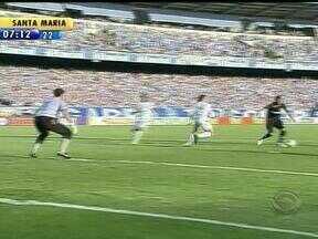 Por todos os ângulos, veja gol de Leandro contra o Figueirense - Garoto ocupou a vaga de Kleber, que estava suspenso.