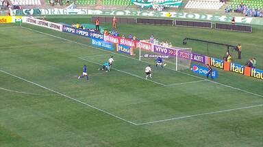 Cruzeiro é goleado pelo Coritiba - Com a derrota por 4 a 0, técnico Celso Roth reclama muito e cobra jogadores pelo resultado.