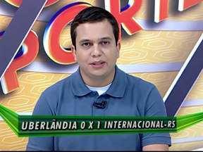 Verdinho perde para o Internacional pela Taça BH de Futebol Júnior - Internacional venceu o Verdinho por um a zero, em uma partida válida pela terceira rodada da competição.