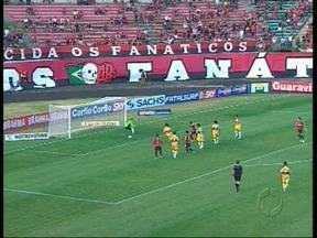 Terceira vitória consecutiva anima torcida do Atlético - Furacão segue em ascenção na Série B