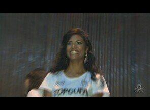 Adriana dos Santos é a vencedora da seletiva Top Cufa 2012 em Rondônia - Apenas um ponto definiu a candidata Adriana dos Santos para representar o Estado no programa Caldeirão do Huck em setembro.