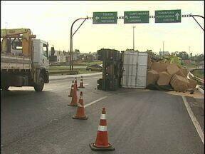 Trevo Cataratas já teve 32 acidentes esse ano - Ponto liga três rodovias movimentadas da região.