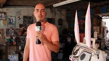Nosso Ceará vai apresentar na terça-feira um 'doutor' do artesanato - Confira a matéria completa no CETV primeira edição.