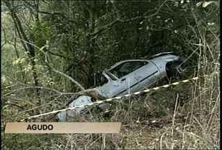 Uma jovem de 30 anos morreu em um acidente em Agudo - A médica trabalhava em um município vizinho à Agudo. Ela perdeu o controle do veículo na RSC-287 e capotou