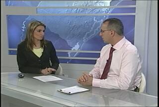 Candidato à prefeitura de Santa Maria Jorge Pozzobom concede entrevista ao RBS Notícias - Jorge Pozzobom é um dos candidatos a Prefeitura de Santa Maria, RS.