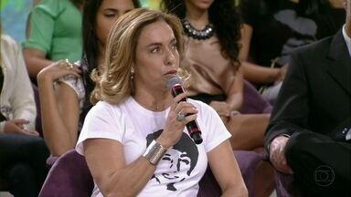 Cissa Guimarães relembra morte do filho e fala sobre paz no trânsito - Há dois anos o filho da atriz foi atropelado por um carro dentro de um túnel
