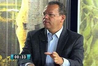 Marcelo Bluma concede entrevista ao MSTV 2ª Edição - O candidato do PV à Prefeitura de Campo Grande fala de seus projetos caso seja eleito. A ordem das entrevistas foi definida por sorteio.