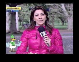 Telespectadores tiram dúvidas sobre a previsão do tempo - Galo Bendito responde às dúvidas dos telespectadores.