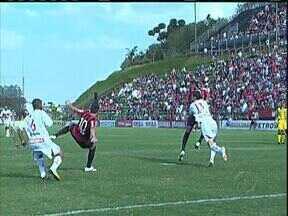 Atlético vence o CRB em Curitiba - A goleada de 4 a 1 recolocou o rubro-negro entre os primeiros da Série B.