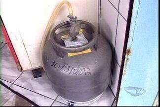 Preço do gás de cozinha sobe, no ES - Botija de 13 quilos vai custar R$ 42 em São Mateus.