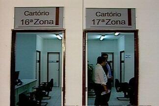 Prazo para tirar 2ª via do título de eleitor está terminando na Paraíba - Cartórios eleitorais estão atendendo todos os dias para atender público e registrar números da eleição.