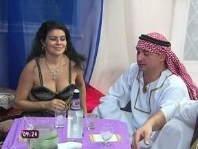 Confira como foi o jantar árabe da Mônica, o primeiro do Jogo de Panelas III - Produtora de eventos estourou orçamento e teve de completar com o próprio dinheiro