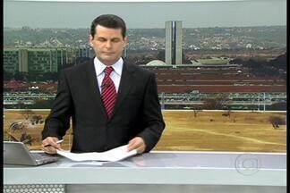 Flutuador na Estação de Tratamento de Esgoto da Asa Norte - O flutuador mostra as condições da água do Lago Paranoá na região onde está instalada a Estação de Esgoto da Asa Norte, em Brasília.