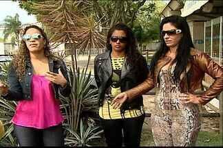 Colegas de dançarina morta no ES dizem que se sentem ameaçadas - Polícia descobriu um plano de atentado contra três dançarinas de forró.Aline Gama foi morta por parceiros que queriam seu lugar em grupo.