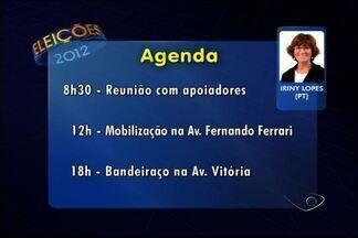 Siga agenda dos candidatos da Grande Vitória, ES - Candidatos divulgam ações desta quinta-feira (4).