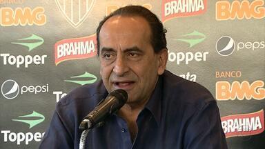 Presidente do Atlético-MG quebra silência e fala sobre atuação do time - Alexandre Kalil comentou rendimento da equipe.