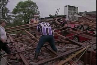 Temporal causou prejuízos em Ijuí - Mais de 70 ocorrências foram registradas pelo Corpo de Bombeiros do município