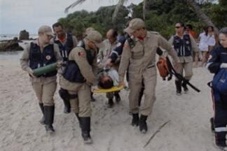 Terá continuação nessa manhã a busca por náufragos no litoral sul da Paraíba - Barco que levava 9 pescadores explodiu a 40 milhas do litoral e 7 pescadores já foram encontrados.