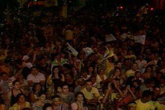 Veja a comemoração dos candidatos e militantes que vão para 2º turno em Campina Grande - Festas aconteceram em locais diferentes.