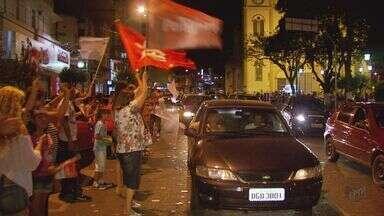Veja como foi a comemoração das eleições nas maiores cidades do Sul de Minas - Veja como foi a comemoração das eleições nas maiores cidades do Sul de Minas