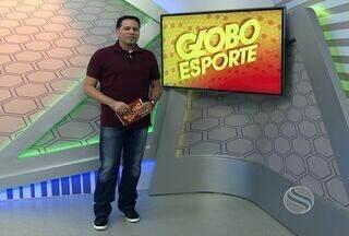 Confira o Globo Esporte desta segunda (08/10) - A preparação do Sergipe Bravos para encarar o América Bulls, pelo Brasileiro de Futebol Americano, é um dos destaques do programa.