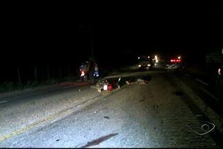Jovem morre em acidente com motocicletas na rodovia que liga Cachoeiro a Alegre, no ES - Duas motos bateram de frente na ES 482.