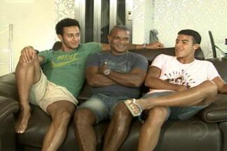 Reportagem especial sobre Mazinho (parte 1) - Paraibano campeão mundial com a Seleção Brasileira em 1994 agora vê os filhos seguirem seus passos no futebol.