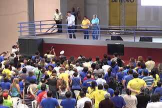 Edivaldo Holanda Jr. (PTC) e Castelo (PSDB) disputam segundo turno em São Luís - Candidato do PTC obeteve 36,44% dos votos válidos e o do PSDB, 30,60%.